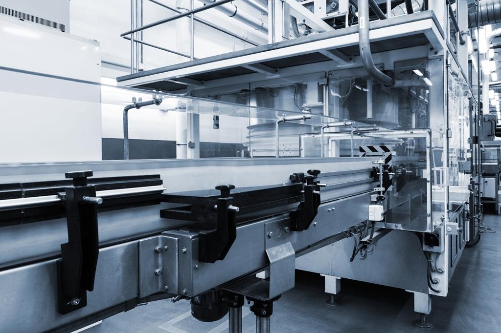 conveyor working